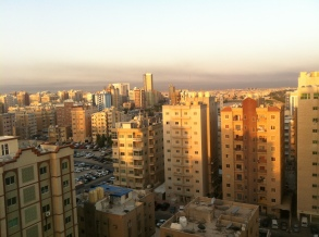 Hawally at sunrise