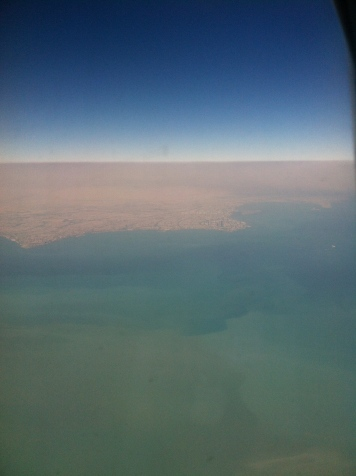 Kuwait from the sky