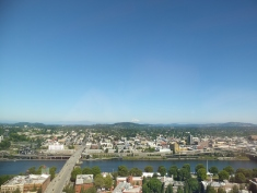 View from Portland City Grill