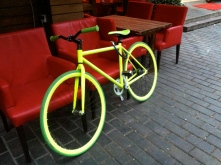 Dream bike spotted outside Old Henry's Bar in Xi'an