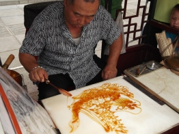 Sugar art in Ancient Culture Street