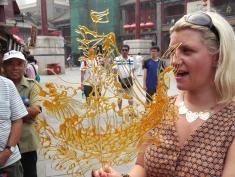 Sugar art in Ancient Culture Street