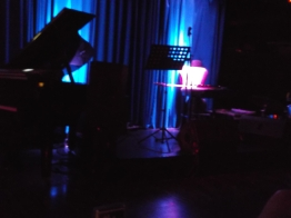 Live jazz on stage