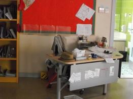 My classroom (pardon the mess!)
