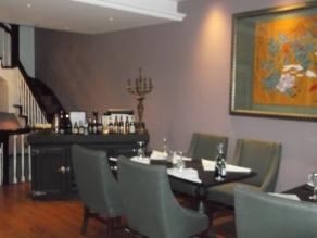 Oscar House pstairs dining room