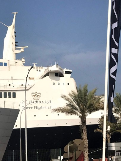 Brunched on the QE2 in Dubai