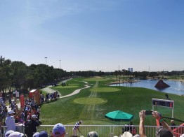 European Golf tournament at Abu Dhabi Golf Club
