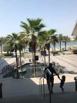 Al Muneera beach front